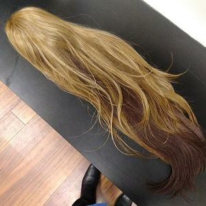 Lace front 30 inch wig